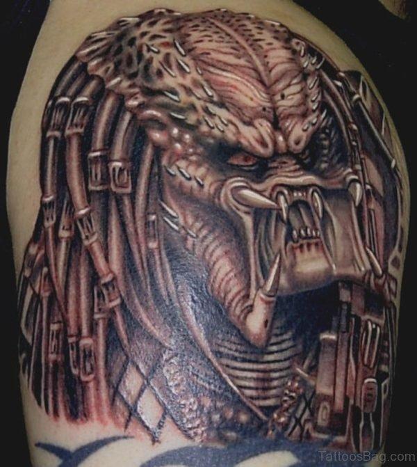 Classic Alien Tattoo