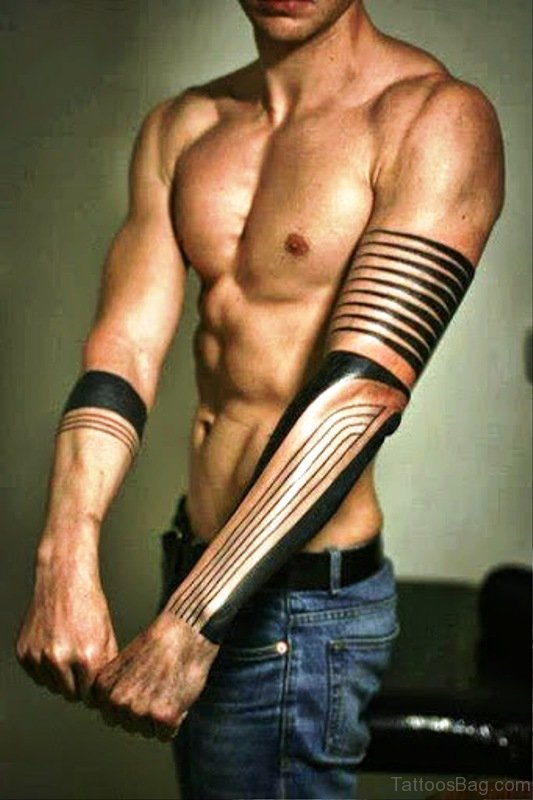 70 traditional all black tattoos on arm for All in one tattoo