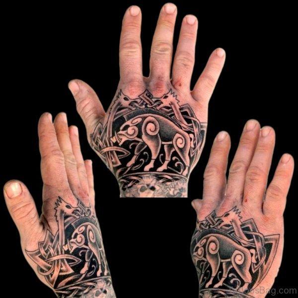 Classic Celtic Tattoo