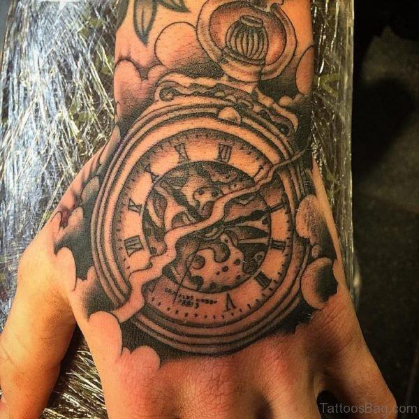 Classic Clock Tattoo