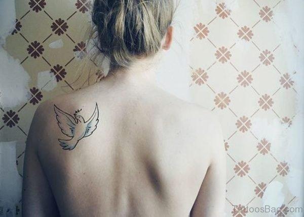 Classic Dove Tattoo