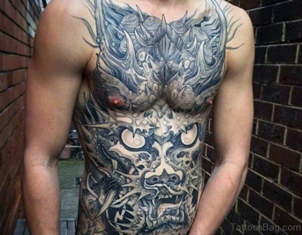 Classic Dragon Tattoo