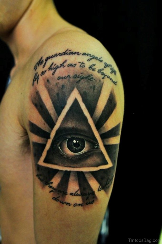 60 superb eye tattoos for shoulder for Tattoos in the eye