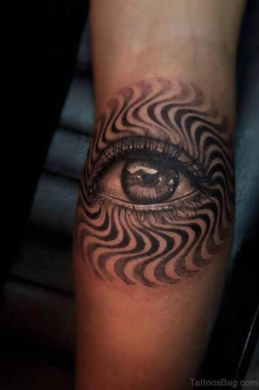 Classic Eye Tattoo