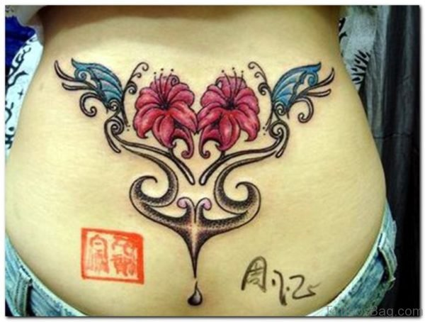 Classic Flowers Tattoo