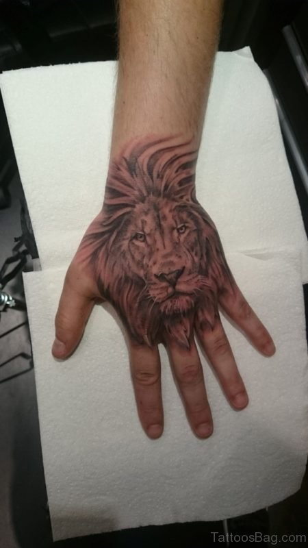 Classic Lion Tattoo