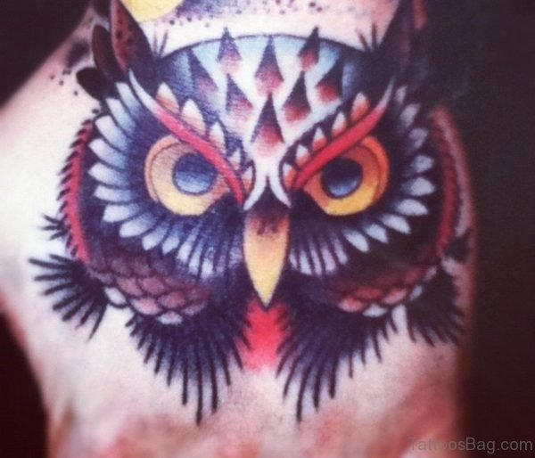 Classic Owl Tattoo
