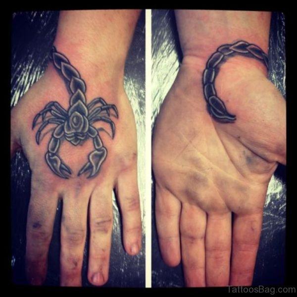 Classic Scorpion Tattoo