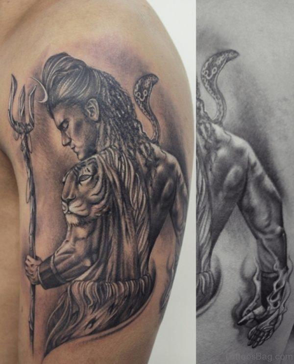Classic Shiva Tattoo