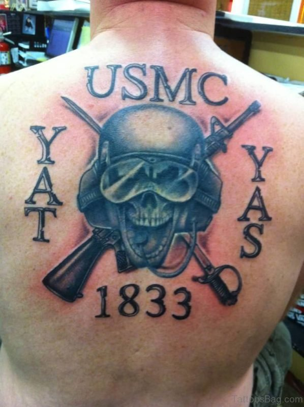 Classic Skull Tattoo