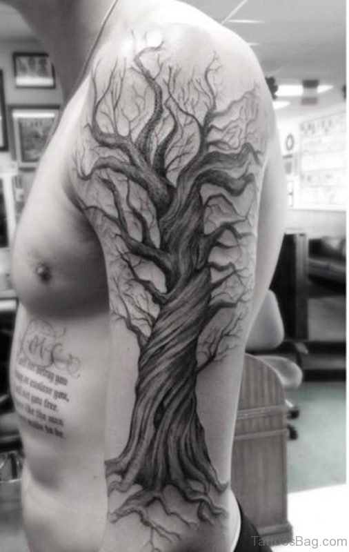Classic Tree Tattoo Design
