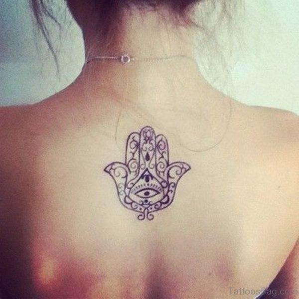 Classic Upper Back Tattoo
