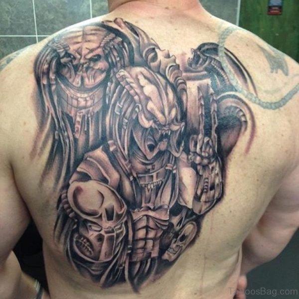 Classy Alien Tattoo