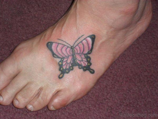Classy Butterfly Tattoo
