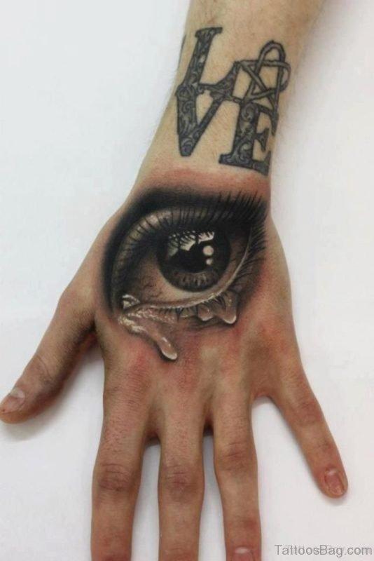 Classy Eye Tattoo
