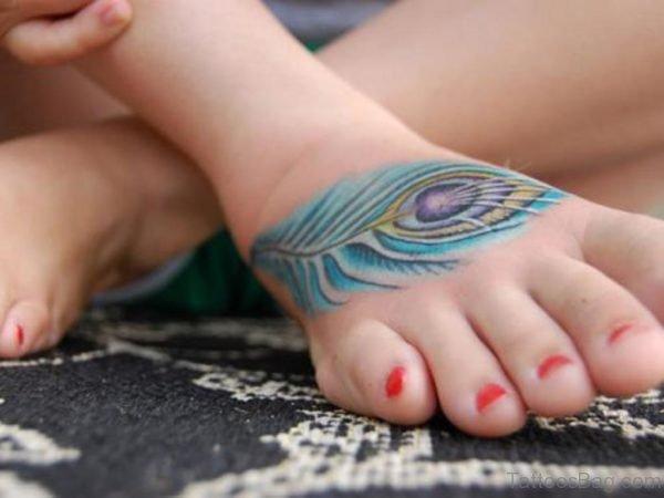 Classy Feather Tattoo