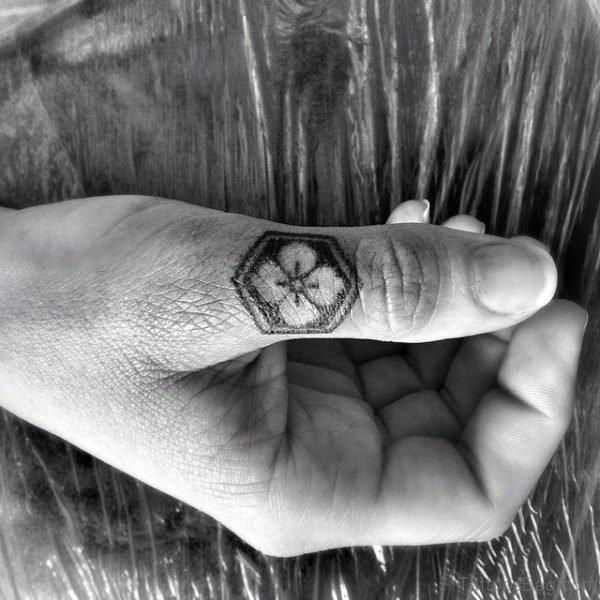 Clover Tattoo On Wrist