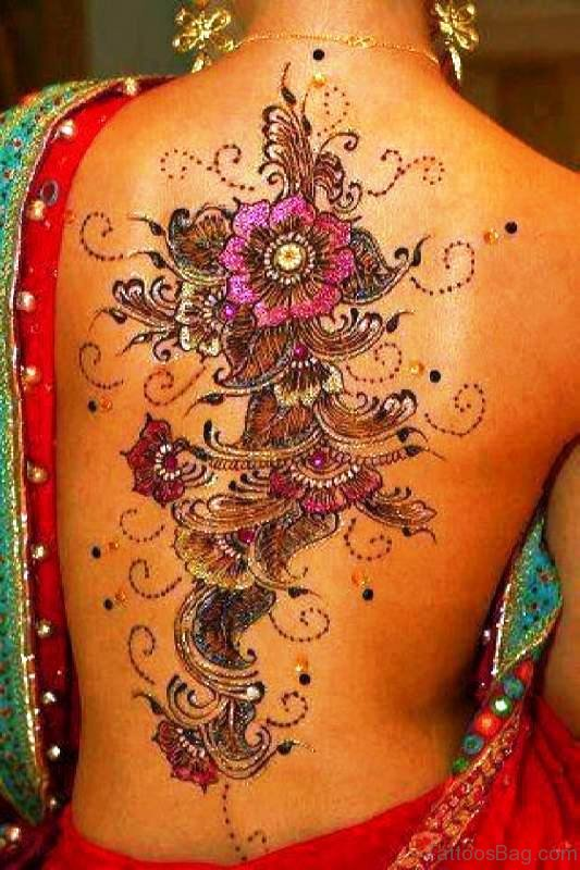 Henna Tattoo Back Spine: 87 Tremendous Vine Tattoos On Back
