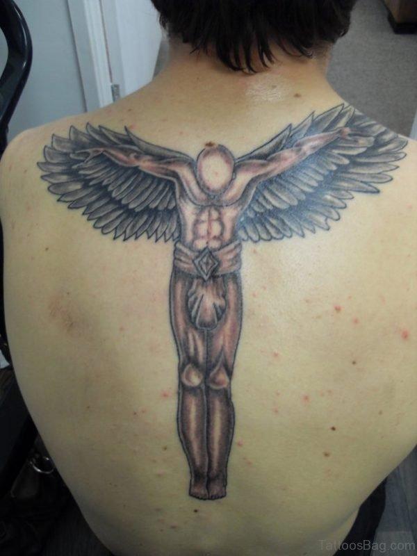 Cool Angel Tattoo