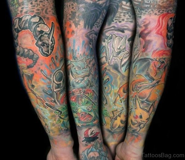 Cool Arms Tattoos