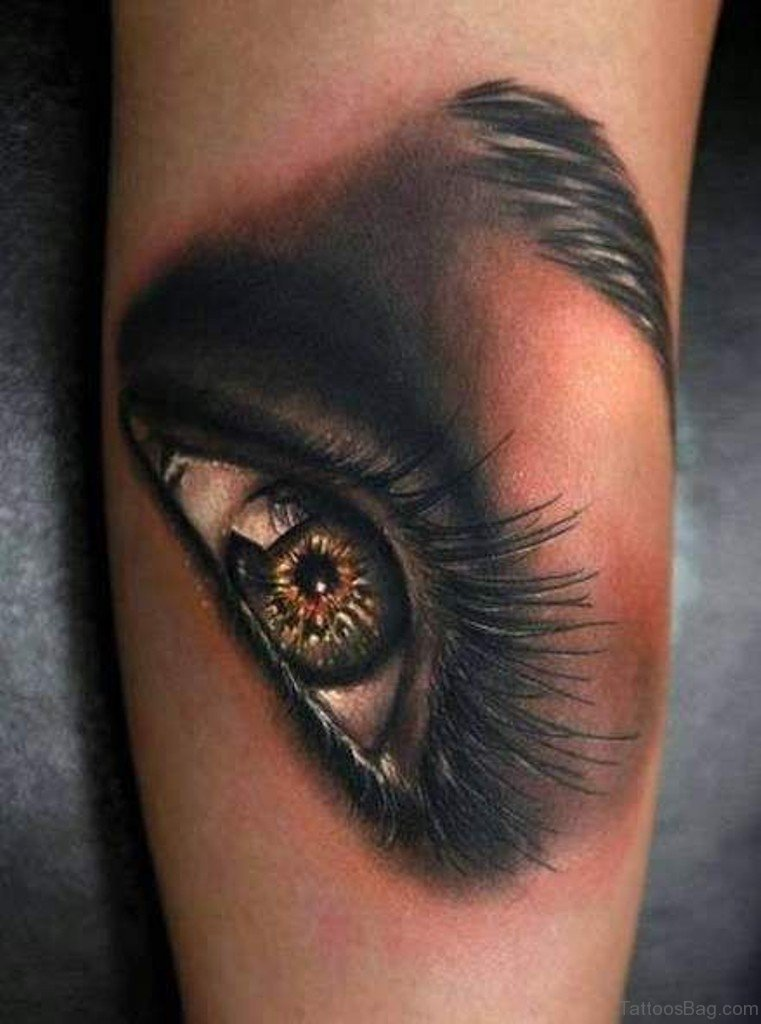 61 mind blowing eye tattoos on arm for Eye tattoo images
