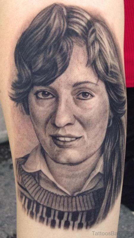 Cool Portrait Tattoo On Arm