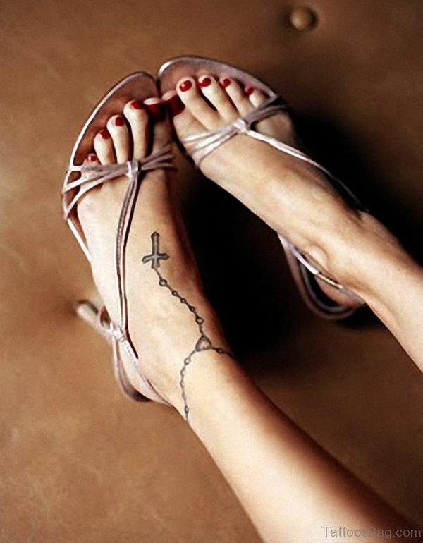 Cool Rosary Tattoo