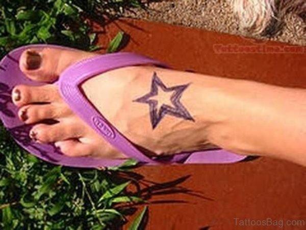 Cool Star Tattoo