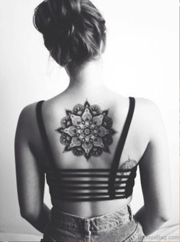 Cool Tattoo On Back