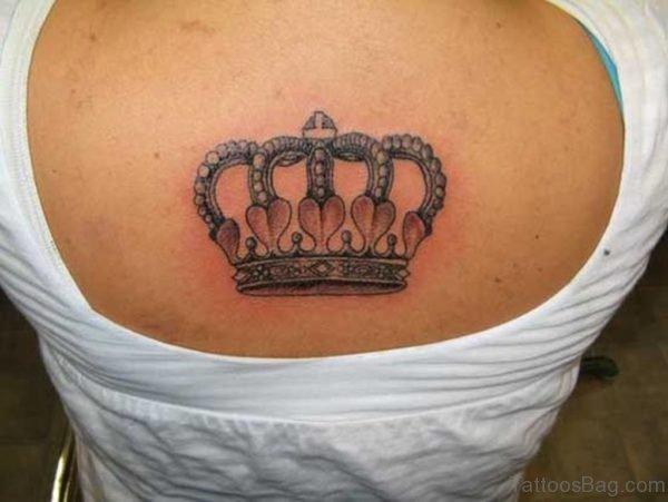 Crown Tattoo Design