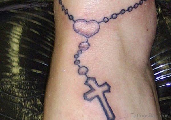 Custom Rosary Tattoo