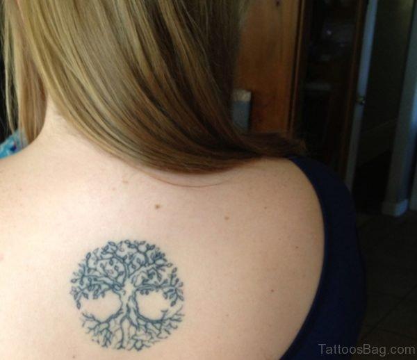 Cute Celtic Tree Tattoo