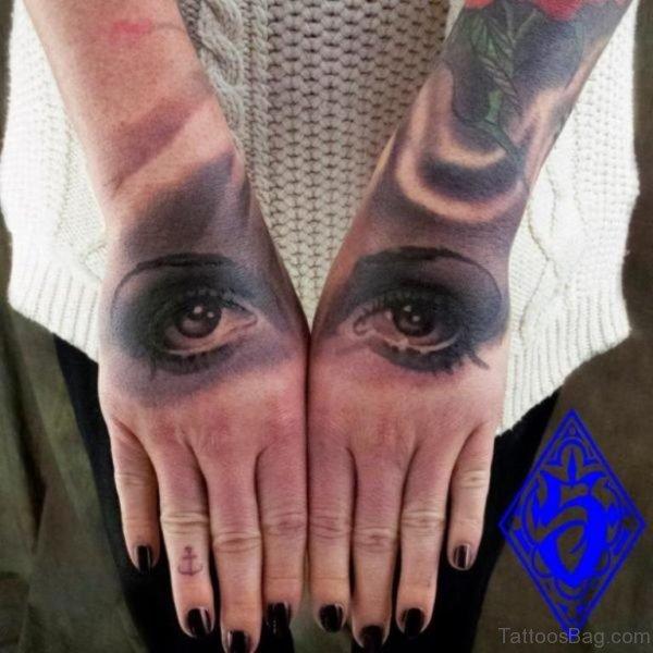 Cute Eye Tattoo