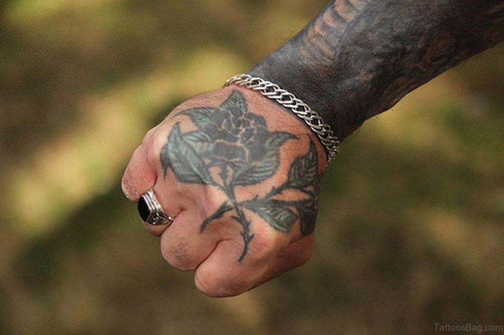 Rose Tattoo On Hand: 50 Cute Flower Tattoos On Hand