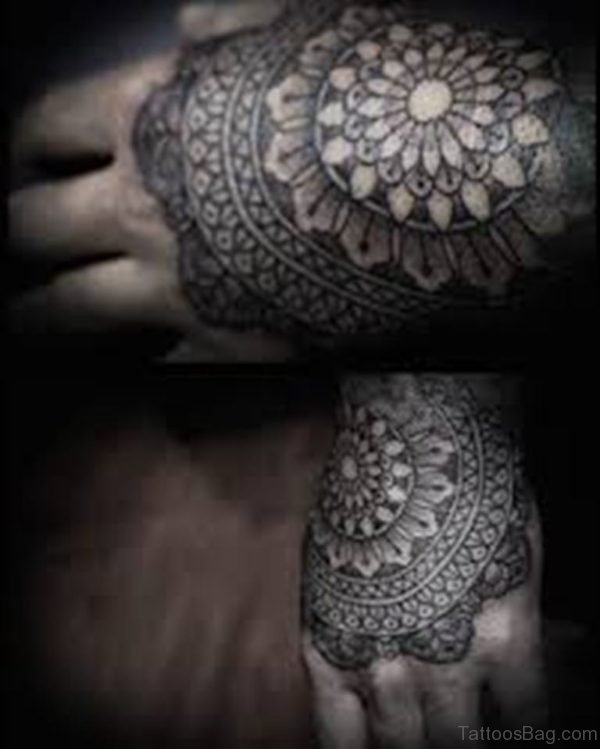 Cute Mandala Tattoo