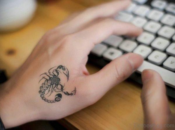 Cute Scorpion Tattoo