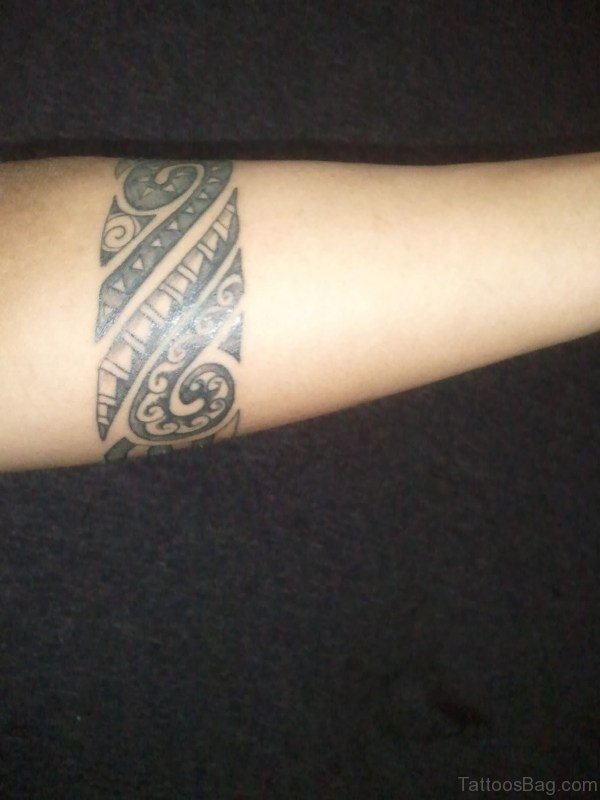 Delightful Band Tattoo Design
