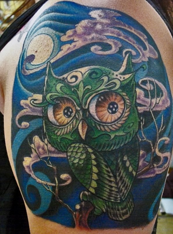 Designer Owl Tattoo