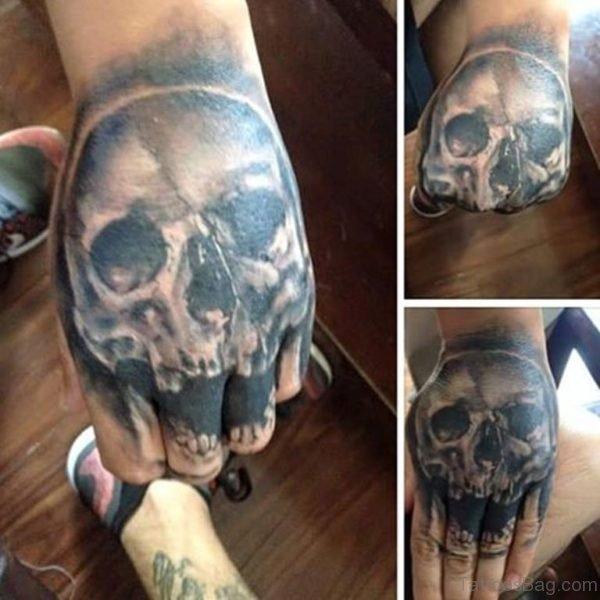 Devil Skull Tattoo Designs