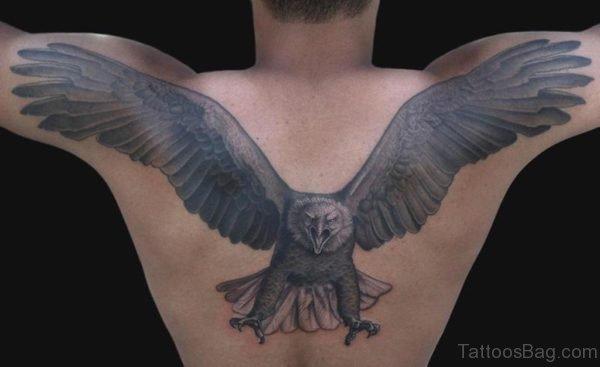 Eagle Tattoo On Back