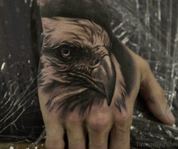 Eagle Tattoo On Hand