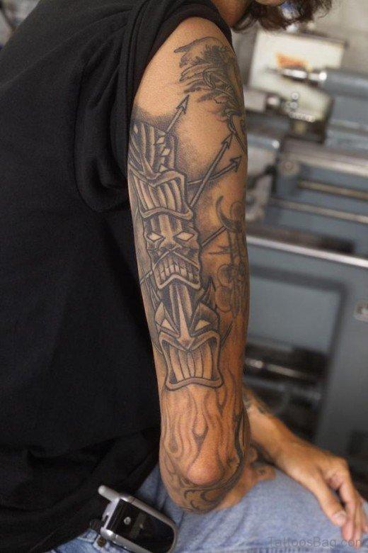 Elegant Arm Tattoo Design