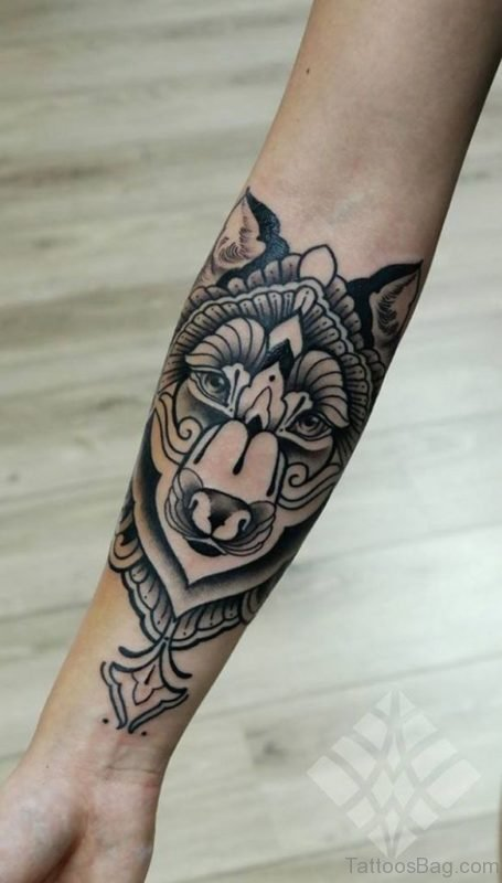 Elegant Arm tattoo