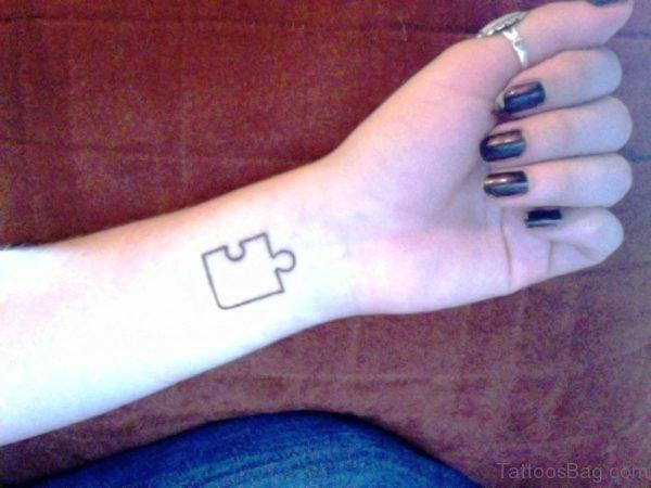 Elegant Autism Tattoos On Wrist