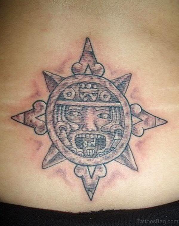 Elegant Aztec TattoElegant Aztec Tattoo o BT1066