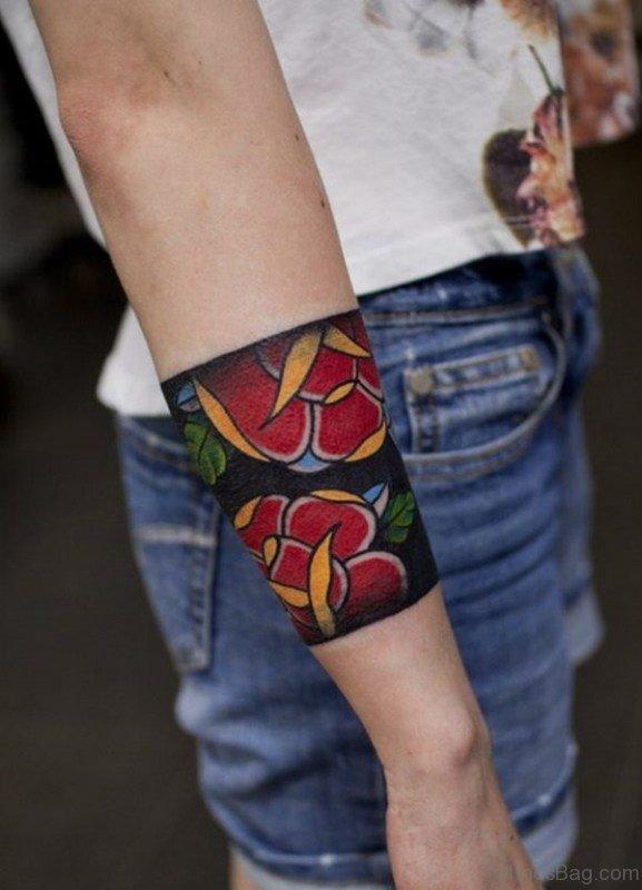 Elegant Band Tattoo Design