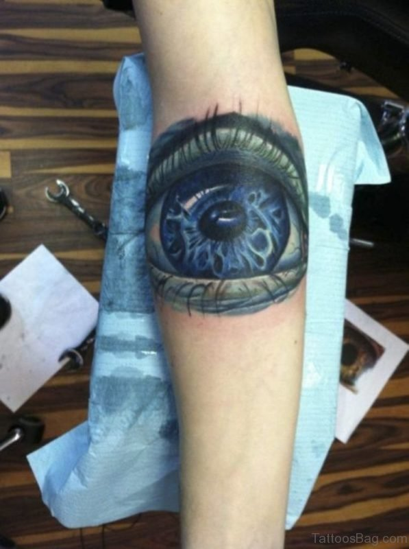 Elegant Eye Tattoo