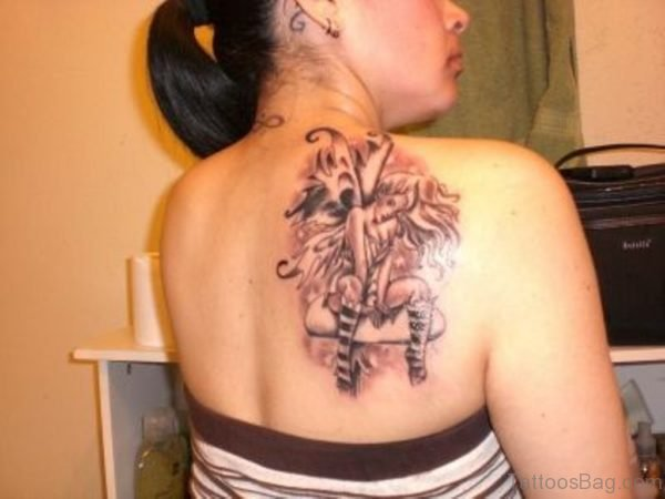 Elegant Fairy Tattoo