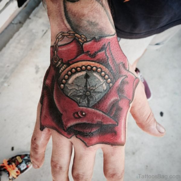 Elegant Hand Tattoo