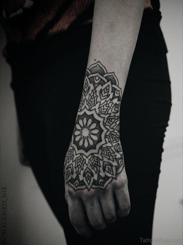 Elegant Mandala Tattoo